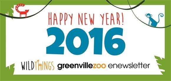 Wild things Greenville Zoo Enewsletter