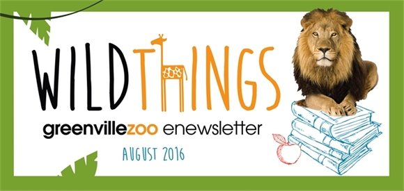 Greenville Zoo Wild Things Newsletter