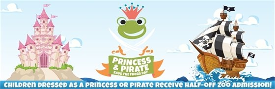 Princess and Pirate: Save the Frogs Day
