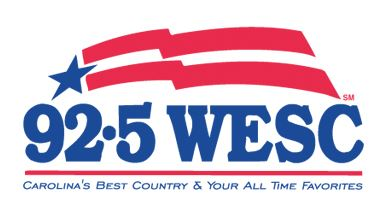92.5 WESC: Carolina's Best Country and Your All-Time Favorites
